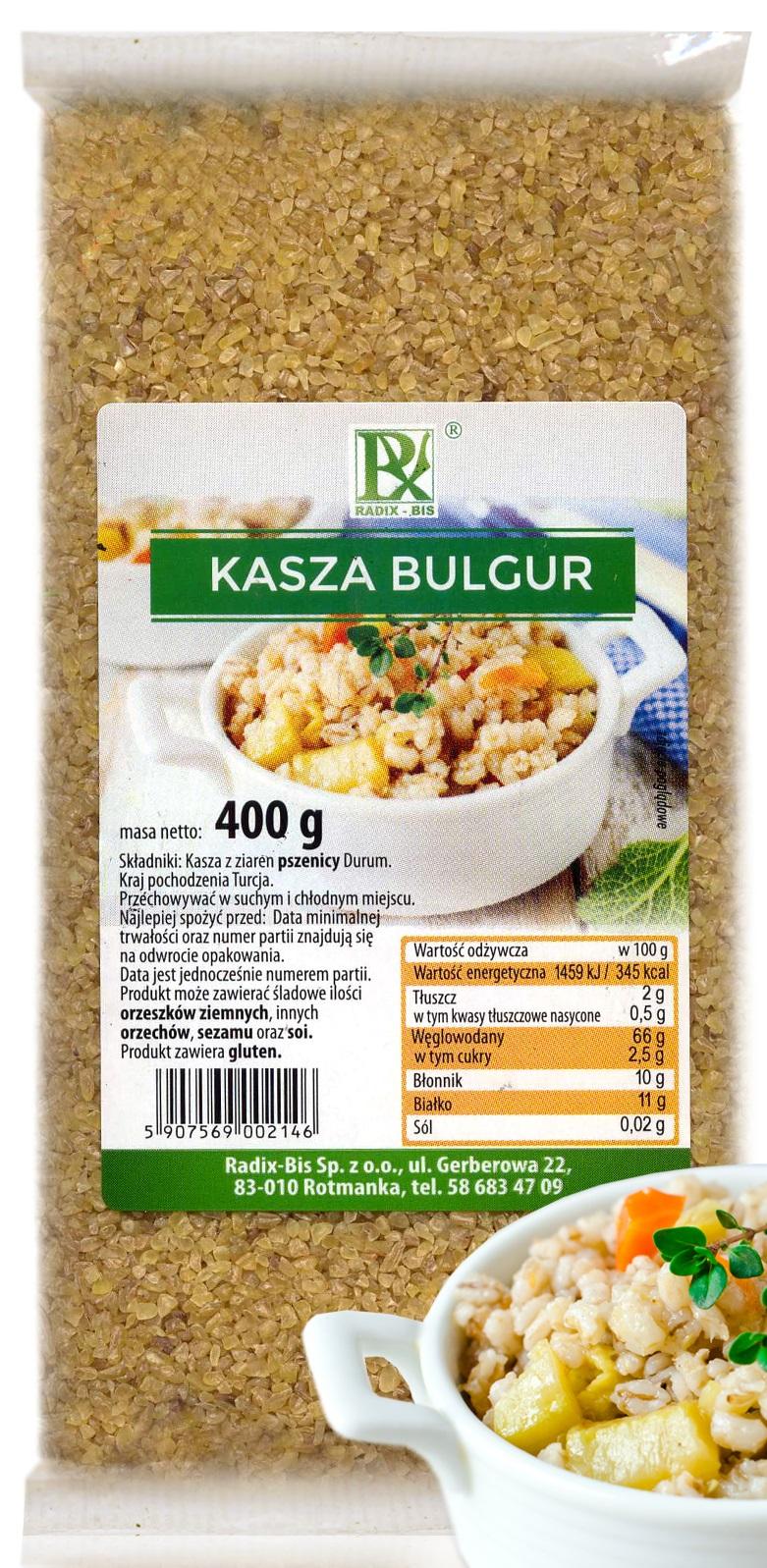 Radix-Bis buckwheat bulgur