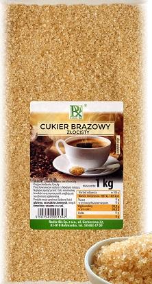 Radix-Bis cukier brązowy złocisty