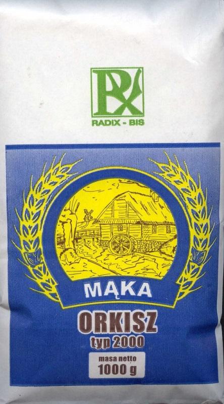 Radix-bis deletreado tipo harina 2000