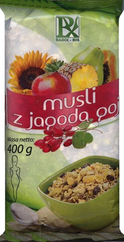 Radix-Bis Musli z jagodą goji