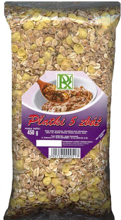 Radix-Bis flocons 5 céréales