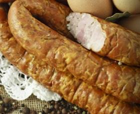 saucisse de nourriture traditionnelle fumée grillées Knights