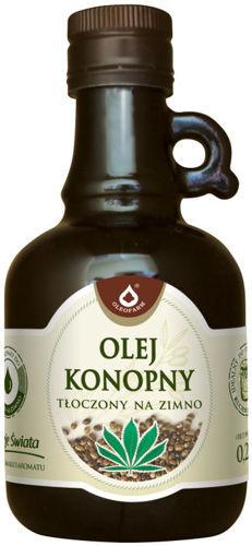 Oleofarm olej konopny tłoczony na zimno