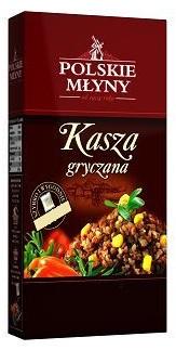 Polskie Młyny Kasza Gryczana z warzywami i sosem czosnkowo-serowym