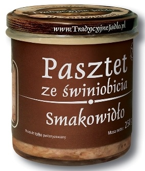 Traditional food pate of pig slaughter. Smakowidło