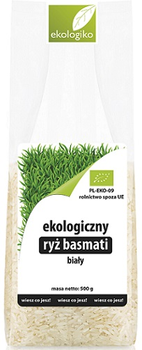 Ekologiko Ekologiczny ryż basmati