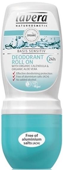 Lavera Naturalkosmetik Dezodorant roll on z bio-nagietkiem i bio-aloesem