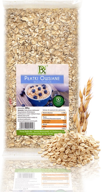 Radix-Bis avoine sans gluten