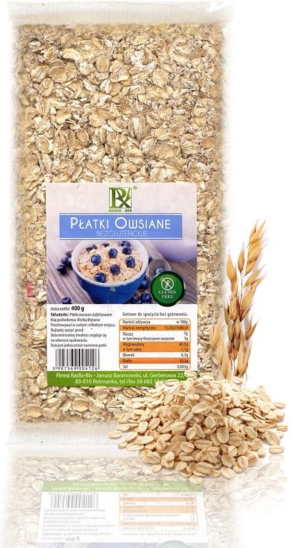 Radix-Bis gluten de avena instantánea
