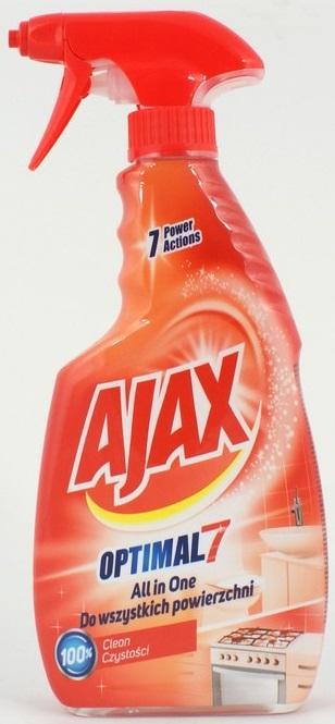 Ajax Optimal 7 Płyn do wszystkich powierzchni All in One