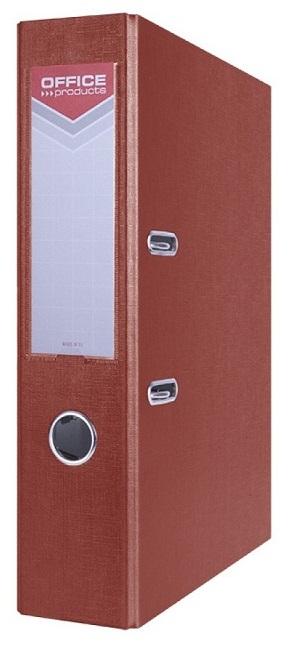 Office segregator  A4 75MM bordowy