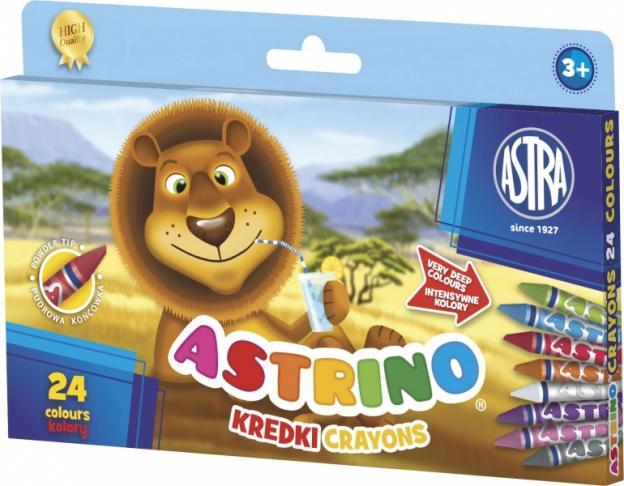 Astra Kredki świecowe Astrino 24 kolory