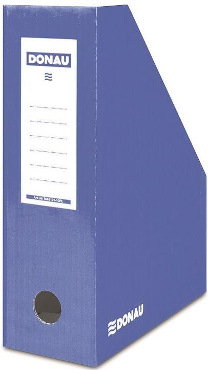 Donau Pojemnik na dokumenty , karton, A4/100mm, lakierowany, niebieski