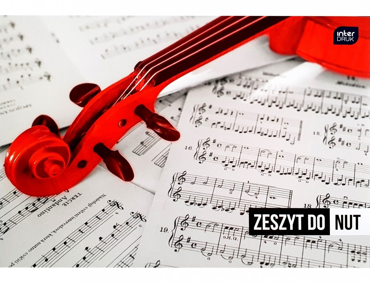 Interdruk Zeszyt do nut  A5 16 kartek