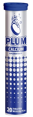 Krüger Plum Calcium suplement