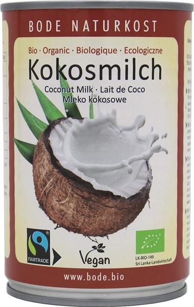 Allfair mleko kokosowe fair trade BIO 18% tłuszczu