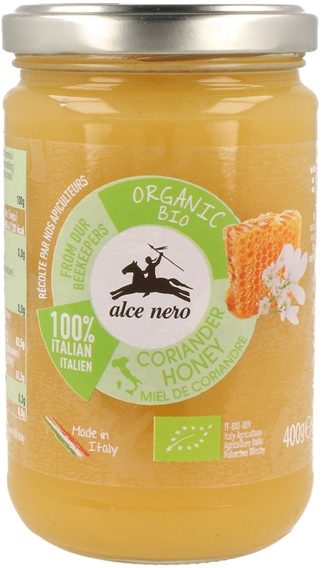Alce Nero miód z kolendry BIO