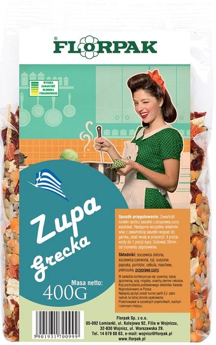Florpak Zupa grecka