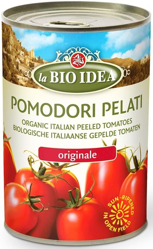 LA BIO IDEA pomidory pelati bez skóry w puszce BIO