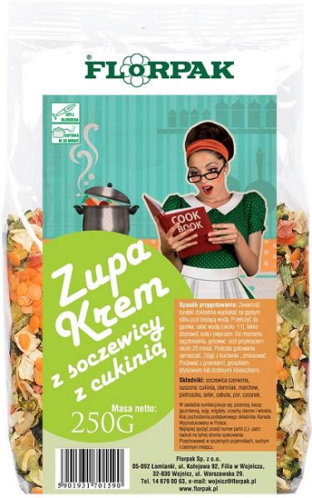 Florpak Zupa krem z soczewicy z cukinią