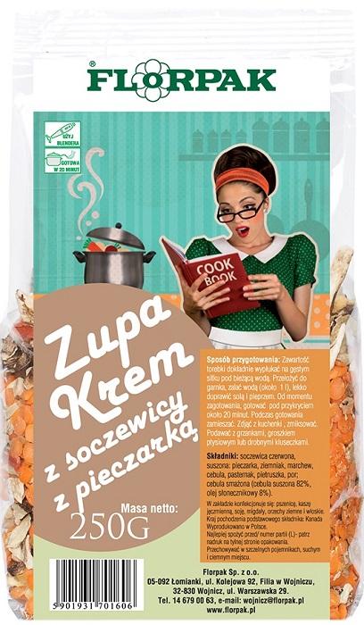 Florpak Zupa krem z soczewicy z pieczarką
