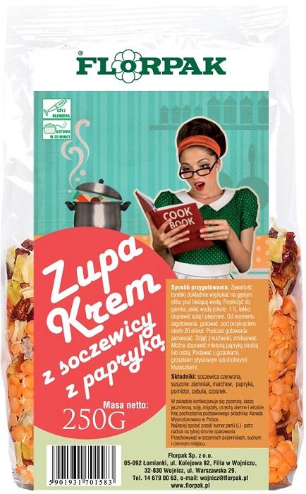 Florpak Zupa krem z soczewicy z papryką