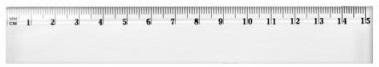 Dominik linijka 15 cm