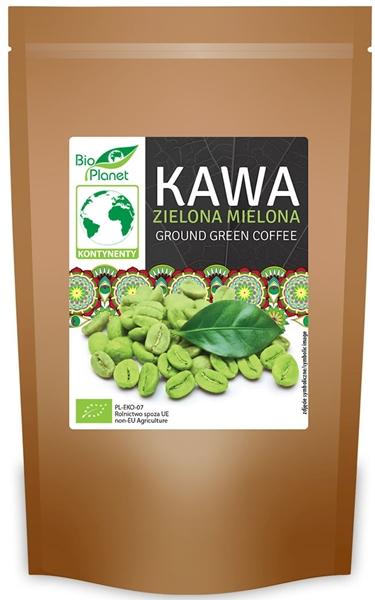 BIO AMERYKA kawa zielona mielona