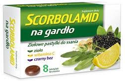 Scorbolamid herbal throat lozenges