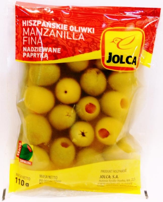 Jolca Hiszpańskie oliwki nadziewane papryką