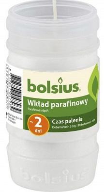 Bolsius contribución de parafina blanco 2 días