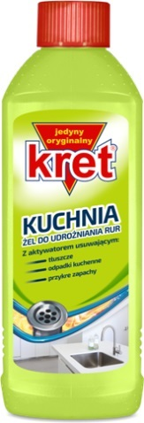 Kret kitchen gel a drain