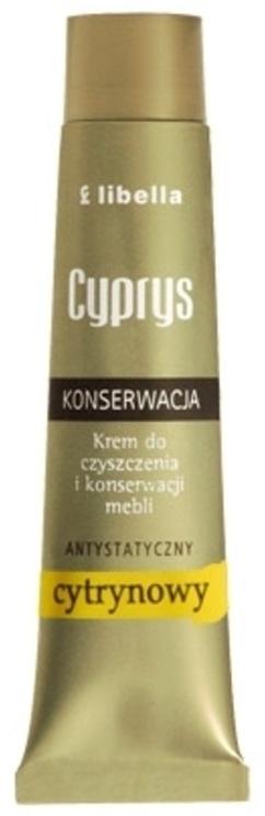 Libella Cyprys krem do czyszczenia i konserwacji mebli antystatyczny cytrynowy
