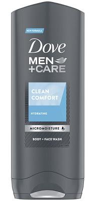 Dove Men +Care żel pod prysznic do mycia twarzy i ciała clean comfort