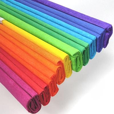 Ok Oficina plisado de papel de seda de 50 cm x 200 cm marrón