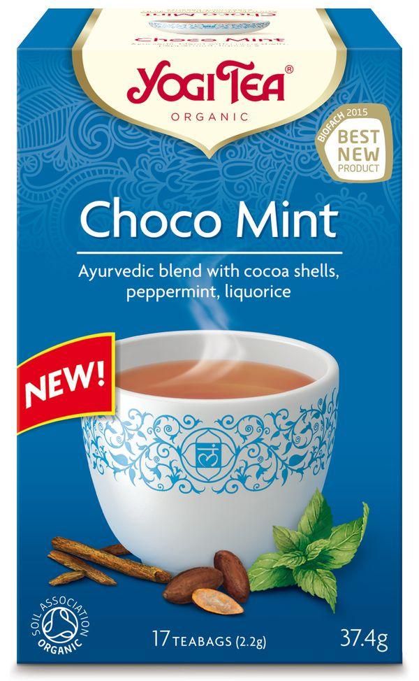 Yogi Tea Herbata ekspresowa z kakao z miętą BIO