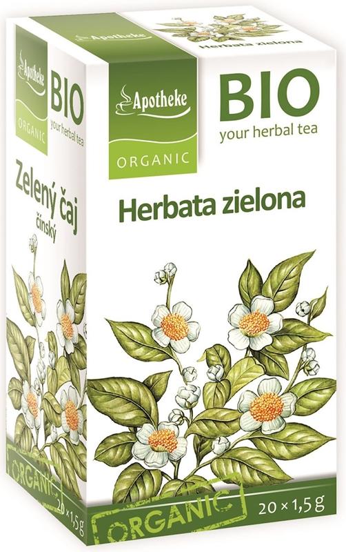 Apotheke Herbata zielona chińska ekspresowa BIO