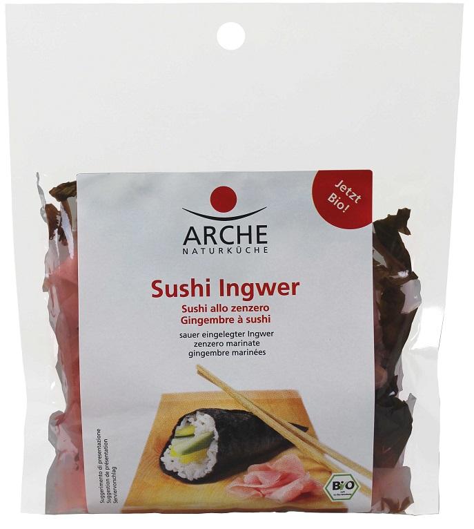 ARCHE Imbir do sushi w płatkach marynowany BIO