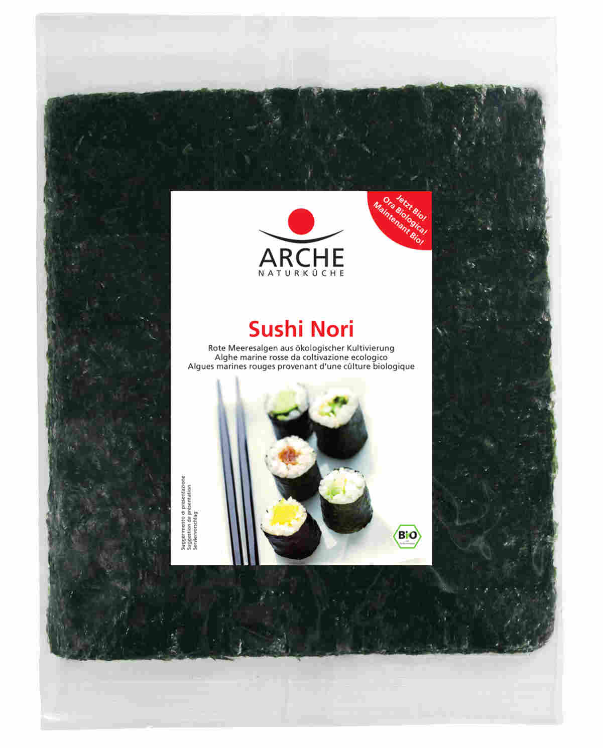 ARCHE Algi morskie nori prażone do sushi BIO
