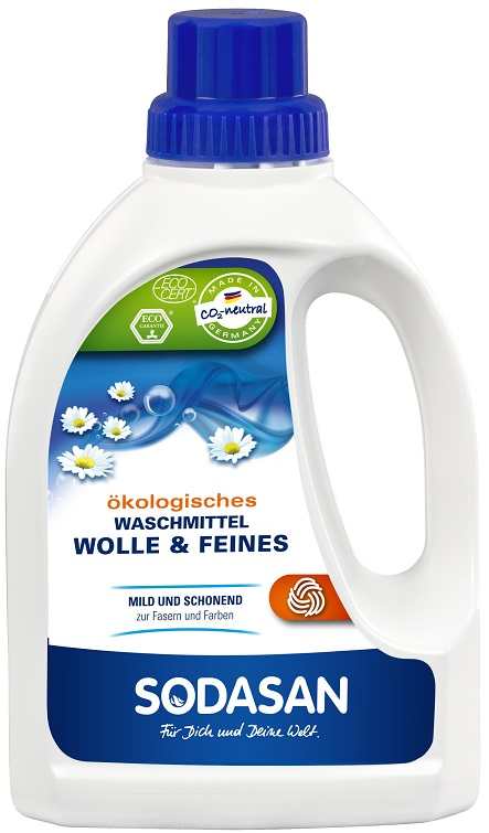 Sodasan Ekologiczny płyn do prania wełny i delikatnych tkanin