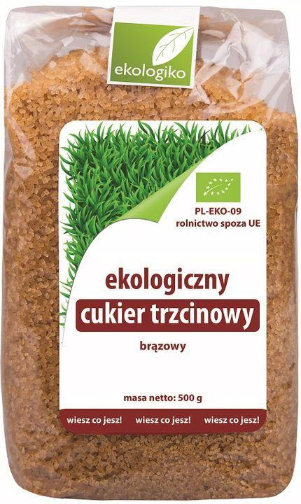 Ekologiko Ekologiczny cukier trzcinowy brązowy