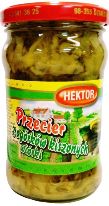 Hektor Przecier z ogórków kiszonych wiórki