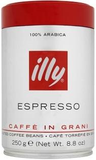 Illy Espresso Kawa ziarnista  100% arabica