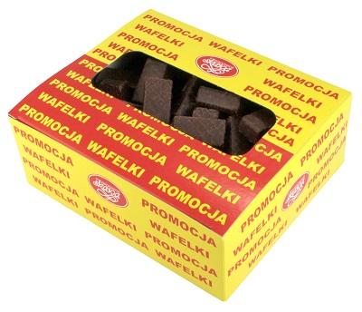 Skawa Wafelki w polewie kakaowej z kremem kawowo-kakaowym