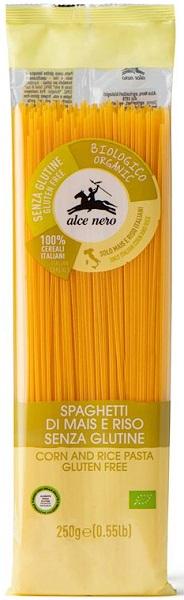 Alce Nero Makaron kukurydziano-ryżowy spaghetti bezglutenowy BIO