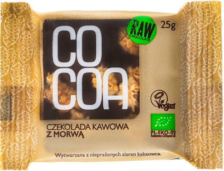 Cocoa Czekolada kawowa z morwą BIO