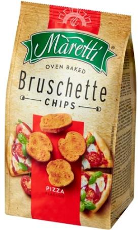 Bruschette Maretti crusty bread pizza