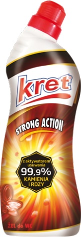 Kret Żel do WC  Strong Action