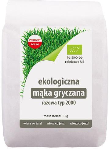 Ekologiko Ekologiczna mąka gryczana razowa typ 2000
