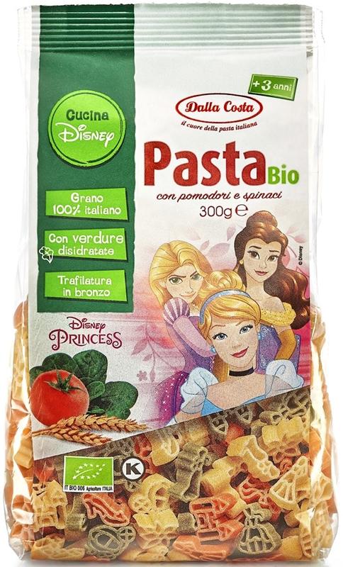 Dalla Costa Makaron semolinowy trójkolorowy Disney Princess BIO